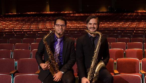 Aníbal Seminario y Lorenzo Ferrero, fundadores de la Afro-Peruvian Jazz Orchestra