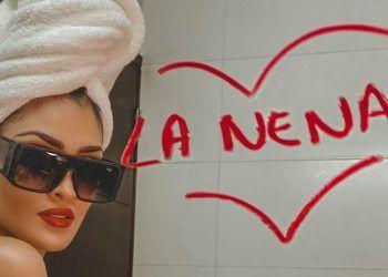 """Micheille Soifer promocionando su reciente tema """"La Nena"""""""